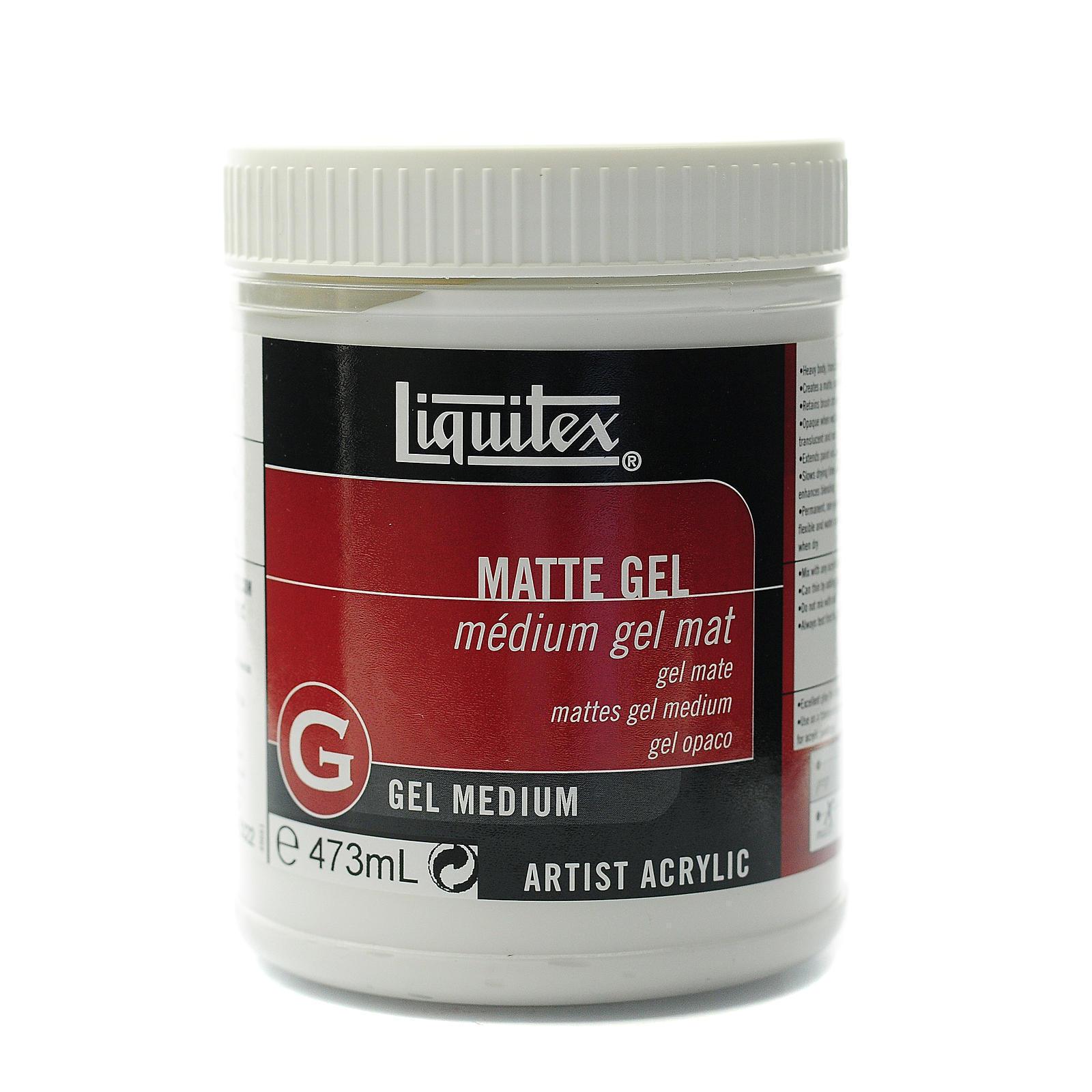 Liquitex Matte Acrylic Gel Medium-16 Ounces (16 Ounces)