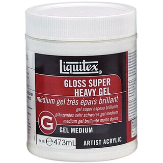 Liquitex Super Heavy Gloss Acrylic Gel Medium-16 Ounces