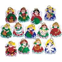 "Angel Ornaments Felt Applique Kit-3""X4"" Set Of 13"