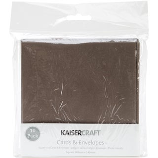 Square Card Pack-Brown