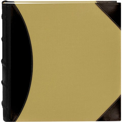 Pioneer Black/Beige 12-inch x 12-inch 5-up High-capacity 500-pocket Photo Album