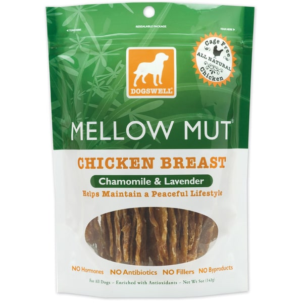 Dogswell Mellow Mut Chicken Jerky (Five ounces)