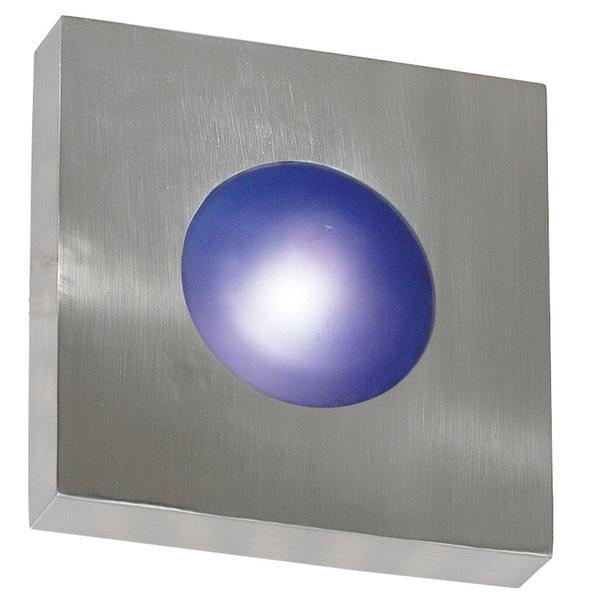 Dalya 1-light Chrome Wall Sconce/ Flush Mount