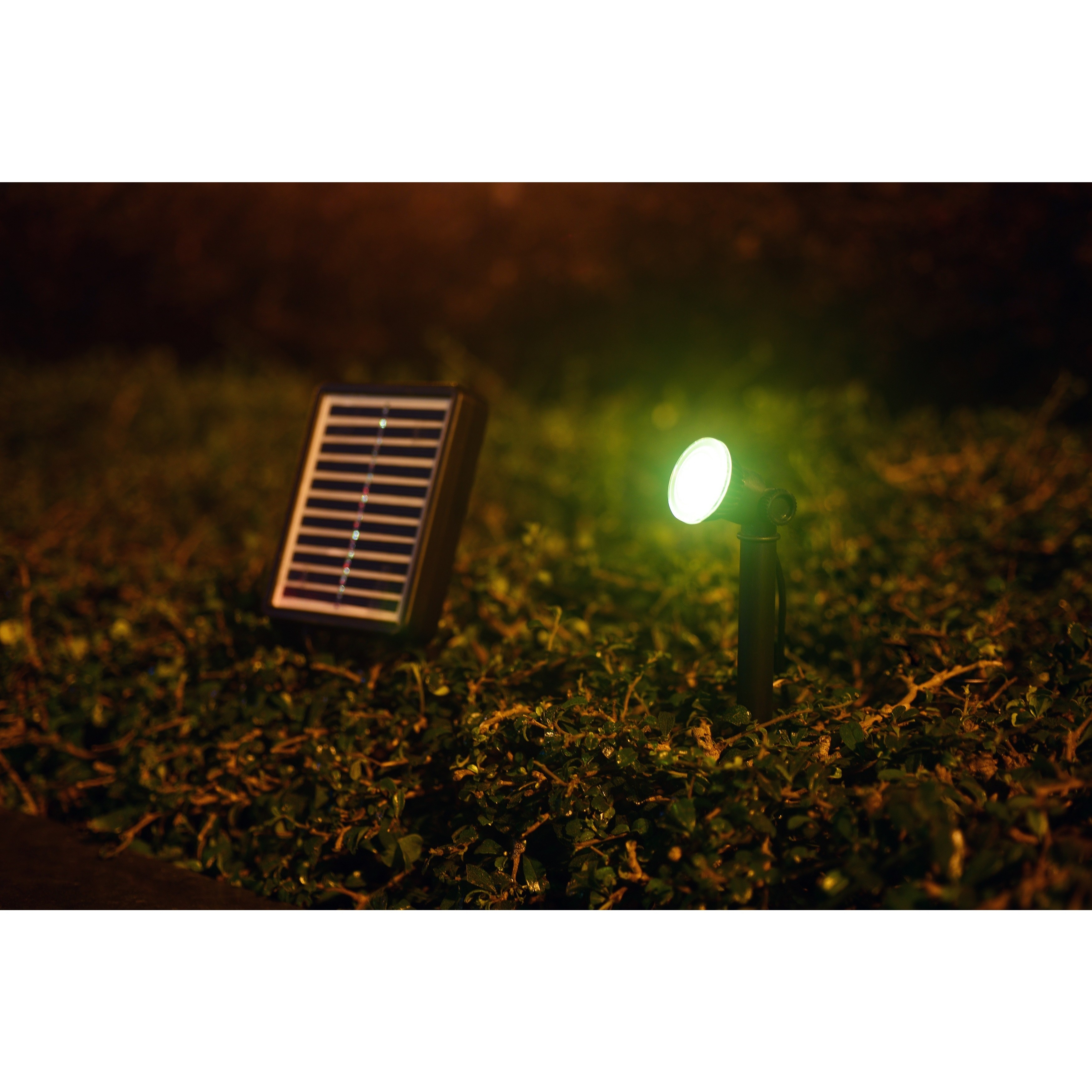 Design Craft Nova Solar 0.5-watt Spotlight (OS70518), Bla...