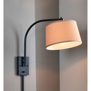 Design Craft Hackett 21-inch Wall Swing Arm Lamp