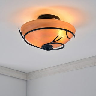 Long Branch 2 Light Flush Mount