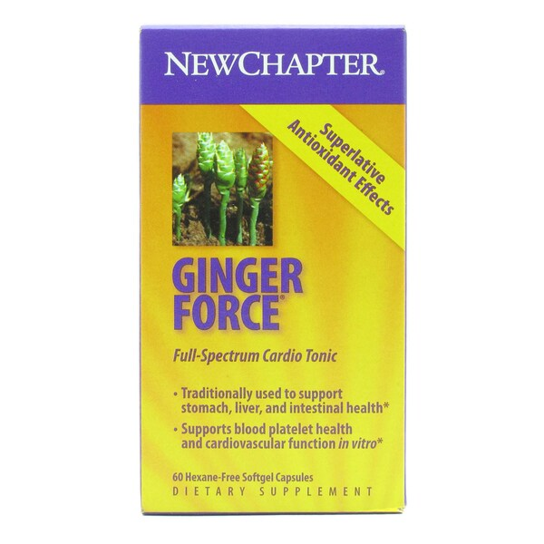 New Chapter Gingerforce (60 Softgels)