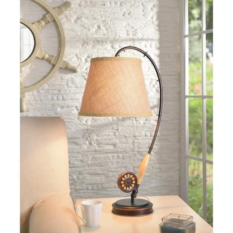 Fishing Rod Table Lamp