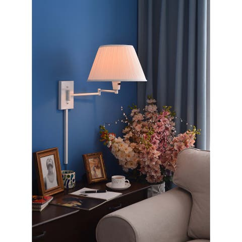 Copper Grove Anticosti Wall Swing Arm with Three-Way Switch Lamp