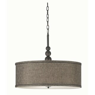 design craft stewart 3 light bronze pendant lighting pendants