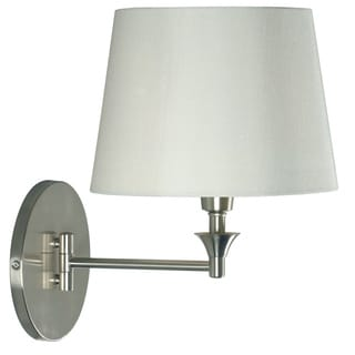 Carby 1-light Steel Swing Arm Wall Lamp