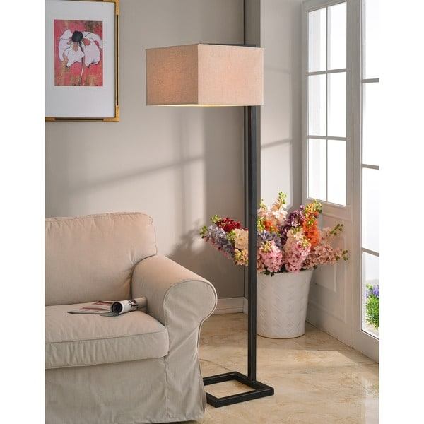 Design Craft Ronson Bronze 64-inch Floor Lamp