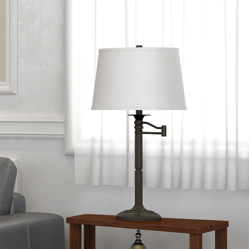 Inch High With Bronze Finish Table Lamp