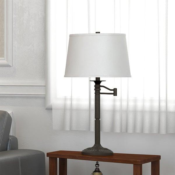 Design Craft Pedara Bronze Finish 29-inch High Table Lamp