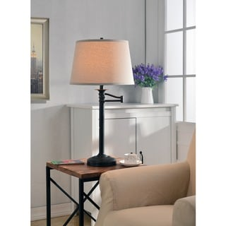 Pedara 29-inch High With Bronze Finish Table Lamp