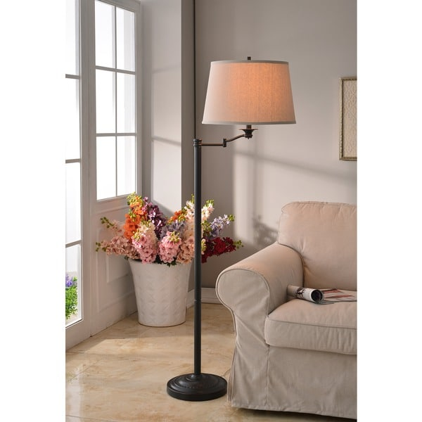 Pedara Swing Arm Floor Lamp