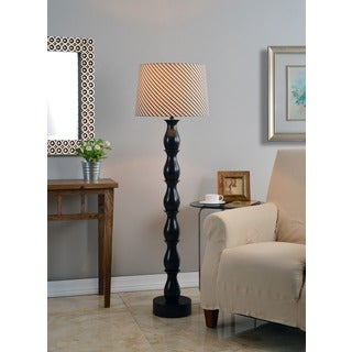 Ballao Ikat Shade Floor Lamp