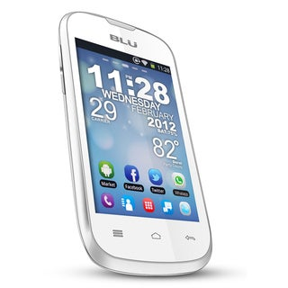 BLU Dash 3.5 D170a GSM Unlocked Android Cell Phone - White