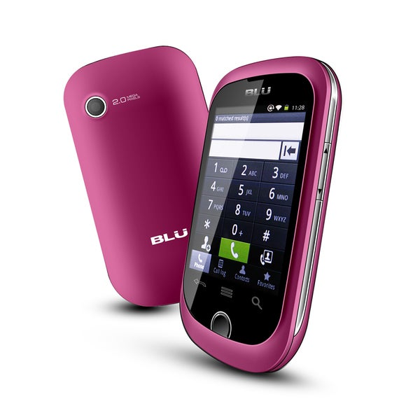 BLU Dash D130 GSM Unlocked Android Cell Phone - Pink