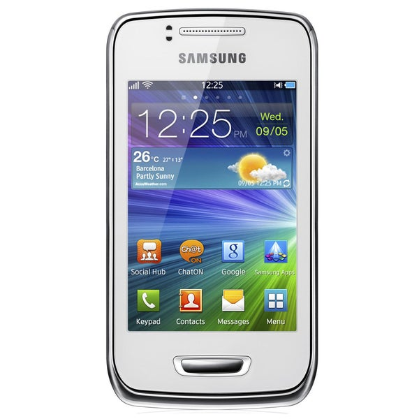Samsung Wave Y S5380 GSM Unlocked Bada OS 2.0 Cell Phone - White