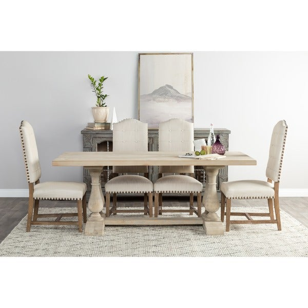 Wilson Reclaimed Wood 98-inch Dining Table by Kosas Home - Free ...