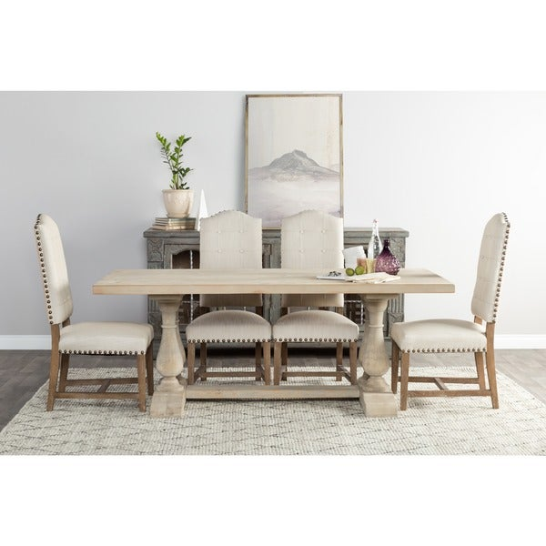 Wilson Reclaimed Wood 98inch Dining Table by Kosas Home Free