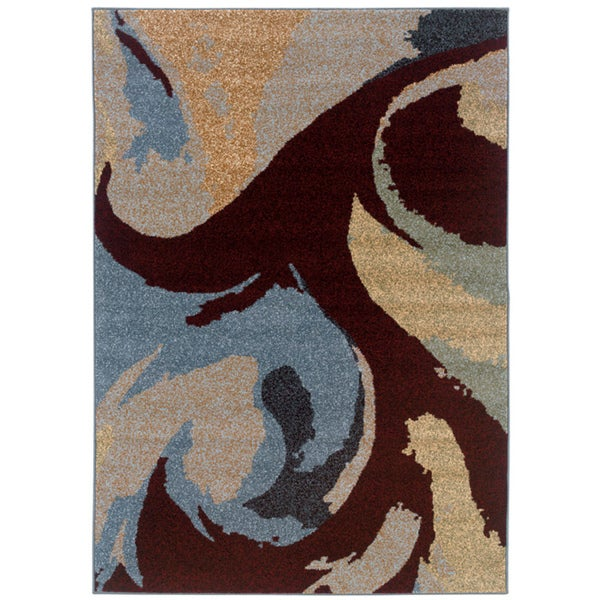 Somette Western Elegance Reflections Summer Area Rug (7'10 x 11'2)