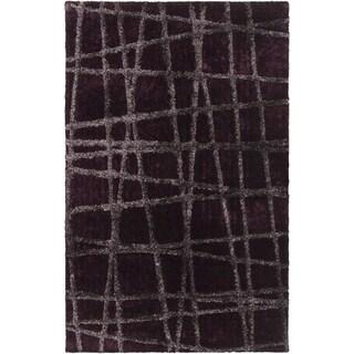 Hand-woven Okmulgee HIgh/Low Soft Shag (5' x 8')