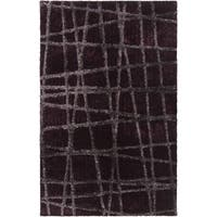 Hand-woven Okmulgee HIgh/Low Soft Shag Area Rug (5' x 8')
