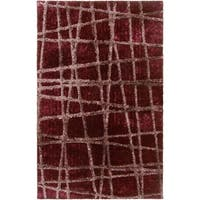 Hand-woven Okmulgee HIgh/Low Soft Shag Area Rug - 5' x 8'