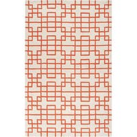 Hand-tufted Lexington Geometric Wool Area Rug - 8' x 11'
