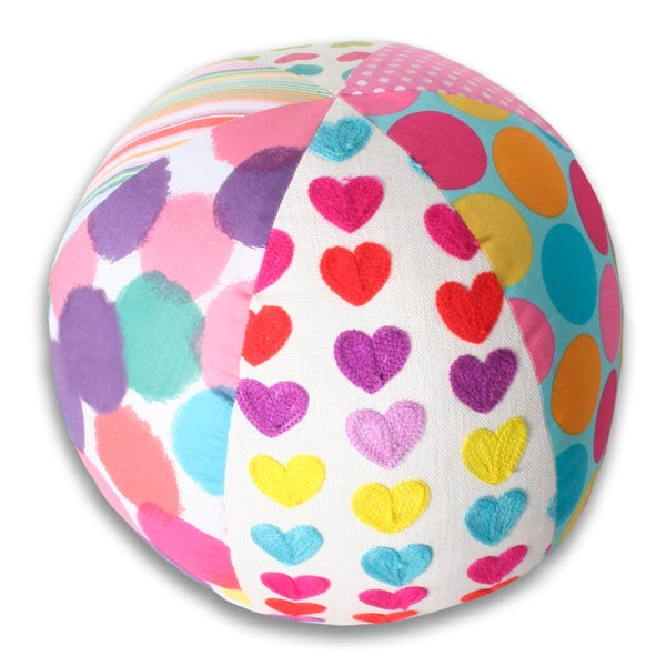 Marlo Lorenz Beach Ball Multi Decorative Pillow