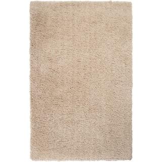 Hand-woven Garber Soft Shag Area Rug - 5' x 7'