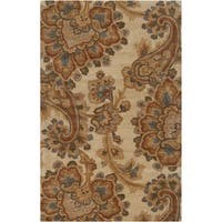 Hand-tufted Byng Beige Area Rug (5' x 8')