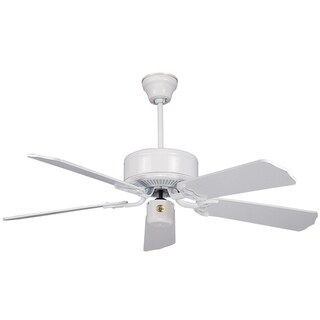 Classic 52-inch White 5-blade Ceiling Fan