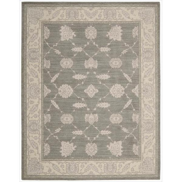 New Horizon Modern Persian Beige Wool Rug (9'9 x 13'9)