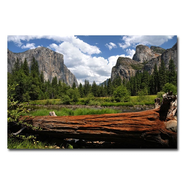 Philippe Sainte-Laudy 'Yosemite Valley' Canvas Art