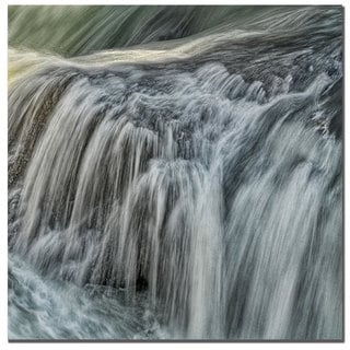 Philippe Sainte-Laudy 'Waterfall in D' Canvas Art