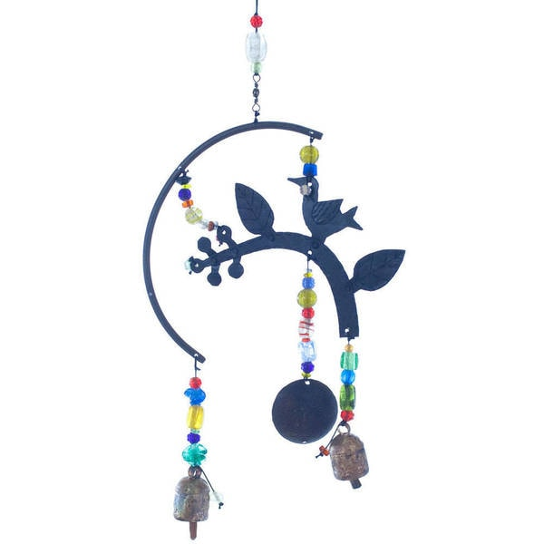 Handmade A Backyard Tradition Bird Wind Chime (India)