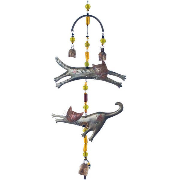 Handmade The Cat Connection Wind Chime (India)