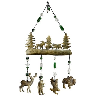 Handmade Friends of the Forest Wind Chime (India)