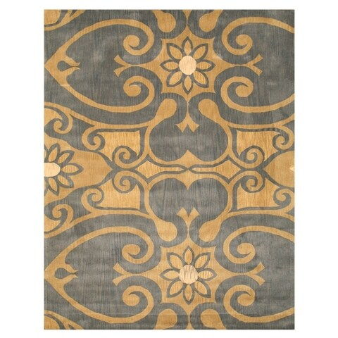 Hand Tufted Wool Brandon Rug - 5' x 8'