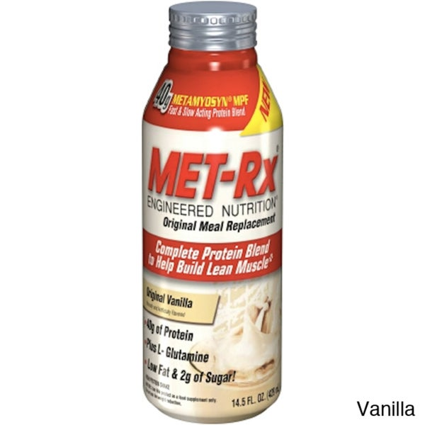 MET-Rx Original Meal Replacement RTD (Pack of 12)