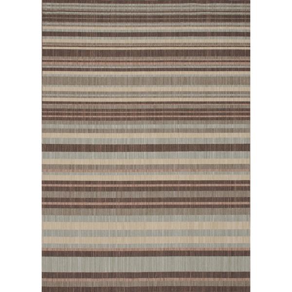 Rosemerta Multi Stripes Rug (5'2 x 7'7)