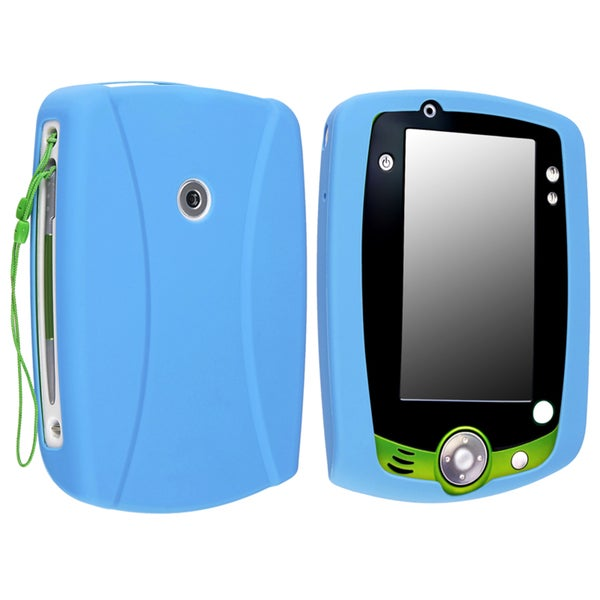 Light Blue Silicone Case compatible with LeapFrog LeapPad 2