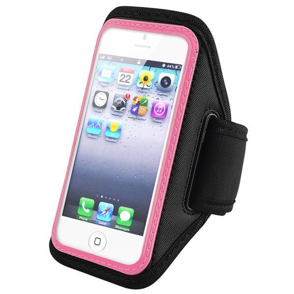 BasAcc Pink Sportband for Apple iPhone 5/ iPod Touch Generation 5