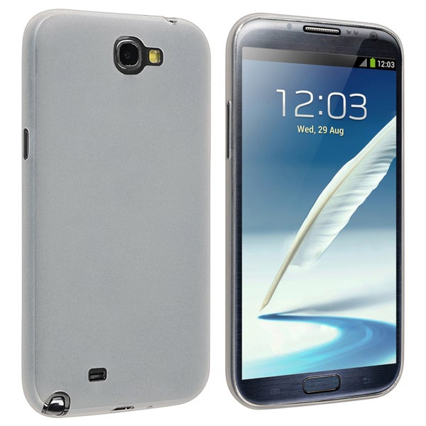 INSTEN Clear Snap-on Slim Phone Case Cover for Samsung Galaxy Note II N7100
