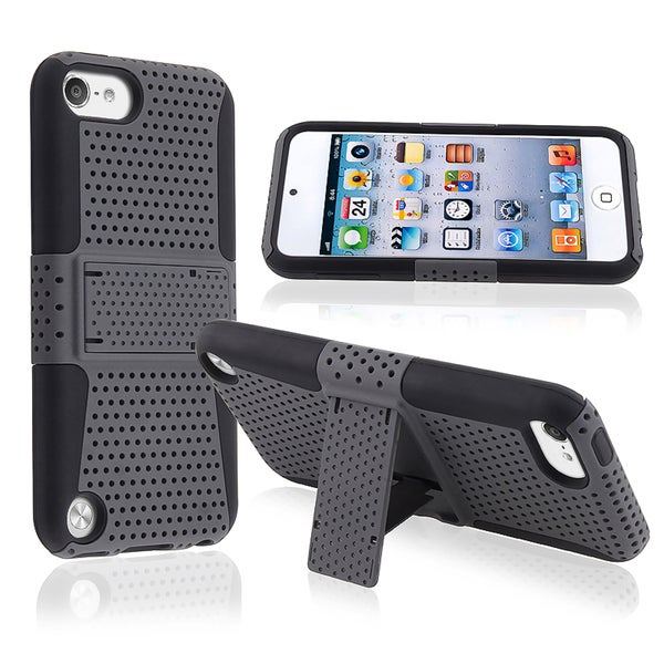 BasAcc Black Hybrid Case with Stand for Apple® iPod touch Generation 5