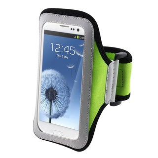 INSTEN Light Green Armband for Samsung Galaxy SIII / S3