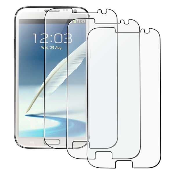INSTEN Anti-glare Screen Protector for Samsung Galaxy Note II N7100 (Pack of 3)